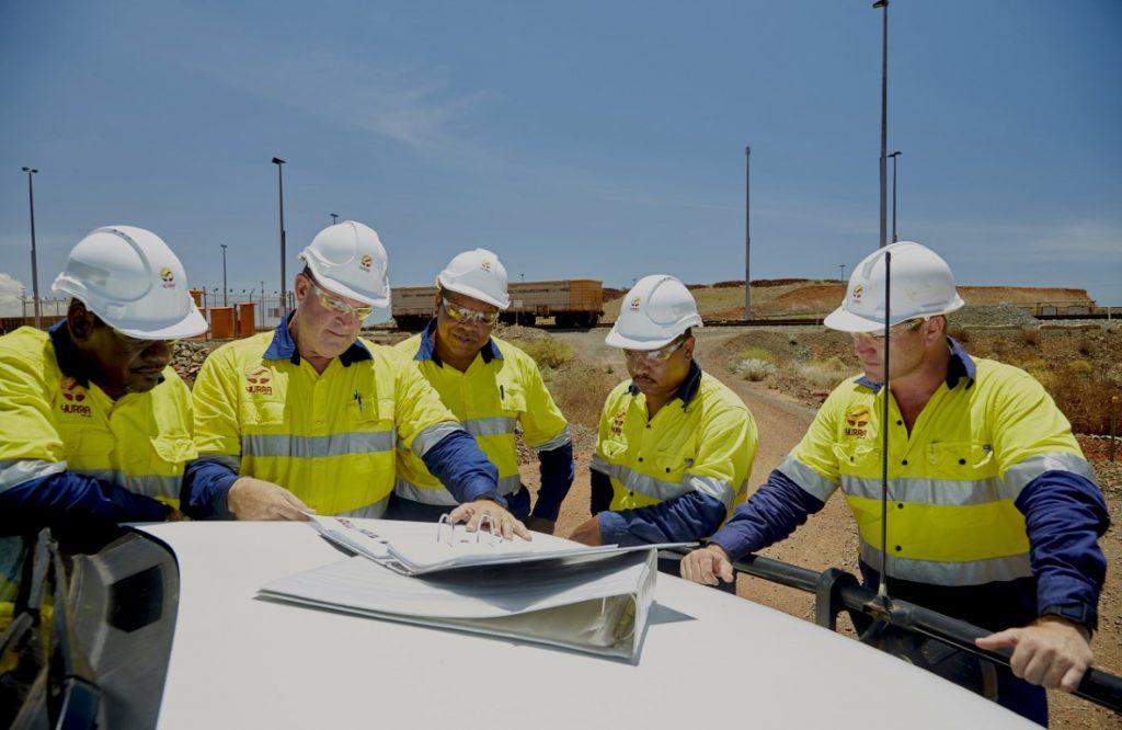 Yurra team in the Pilbara